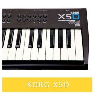 korg-x5d